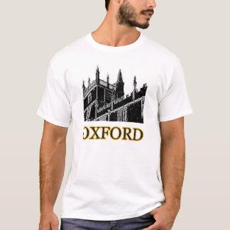 A construção de Oxford Inglaterra espirala jGibney Camiseta
