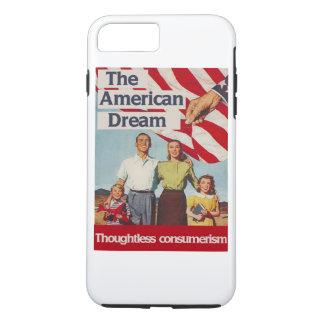 A consumição irreflectida do sonho americano capa iPhone 7 plus