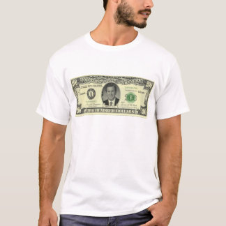 a conta do arbusto $200 camiseta