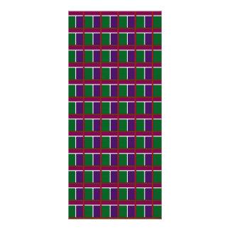 A cor INTENSA modela o luv dos PRESENTES da oferta 10.16 X 22.86cm Panfleto