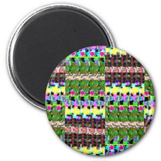A cor INTENSA modela o luv dos PRESENTES da oferta Ímã Redondo 5.08cm