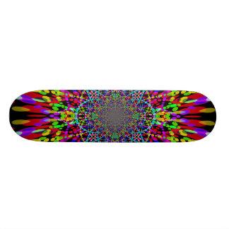 A cor pontilha o skate 3