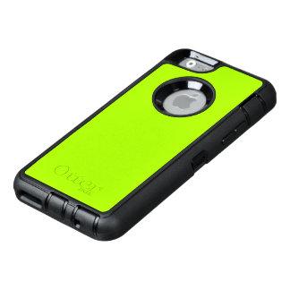 A cor sólida verde fluorescente personaliza-o