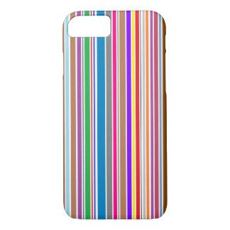 A cor vertical listra capas de iphone