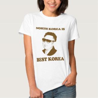 A Coreia do Norte é a melhor Coreia Tshirts