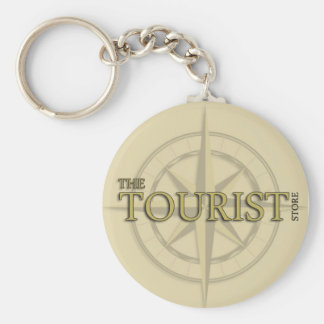 A corrente chave de loja do turista chaveiro
