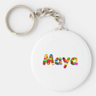 A corrente chave do Maya Chaveiro