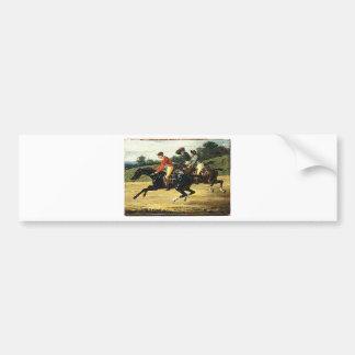 A corrida de cavalos por Theodore Gericault Adesivo Para Carro