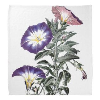 A corriola botânica floresce o Bandana floral