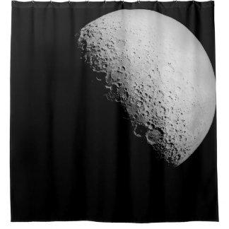 A cortina de chá da lua | cortina para chuveiro