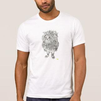 A coruja do hipster é hipster camisetas