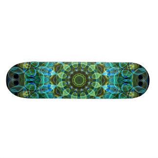 A coruja Eyes o caleidoscópio Shape De Skate 18,1cm