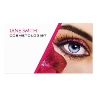 A cosmetologia do Cosmetologist compo o artista Cartão De Visita