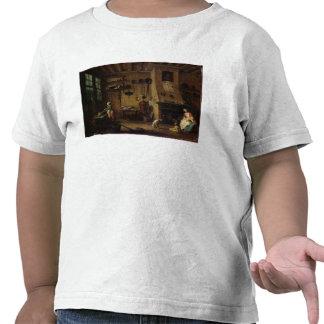 A cozinha burguês camisetas