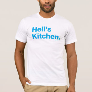 A cozinha do inferno (ciana) camiseta