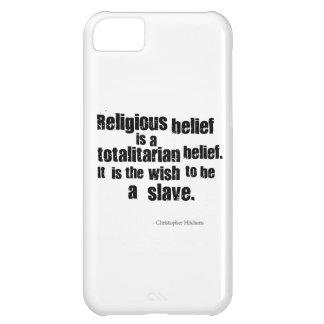 A crença religiosa é uma opinião totalitário capa para iPhone 5C