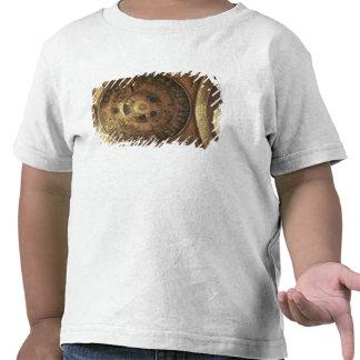 A criação do mundo da cúpula da génese camisetas