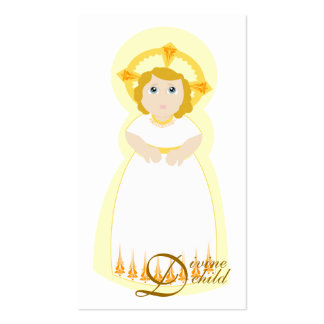 A criança divina Cartão-Personaliza Cartao De Visita