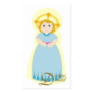 A criança divina Cartão-Personaliza Cartão De Visita