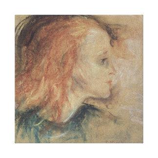 A criança doente, 1885