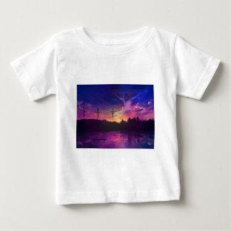 A crucificação do Jesus Cristo Camiseta Para Bebê