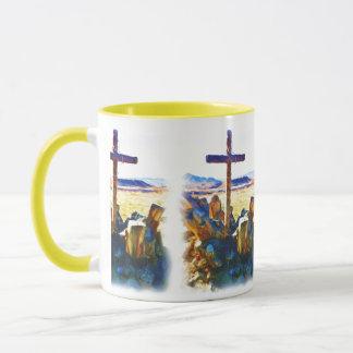 A cruz de Salvation-Saved_ Caneca