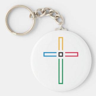 A cruz do evangelho chaveiros
