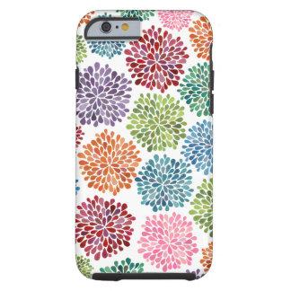 A dália bonita floresce o iPhone 6 Capa Tough Para iPhone 6