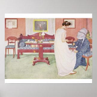 """A dama de honra, bar. em """"Lasst Licht Hinin"""" (""""dei Poster"""