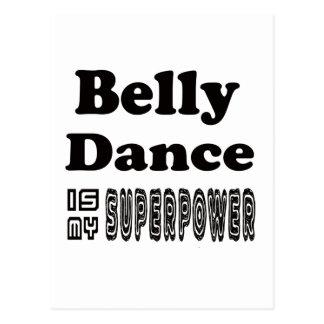 A dança do ventre é minha superpotência
