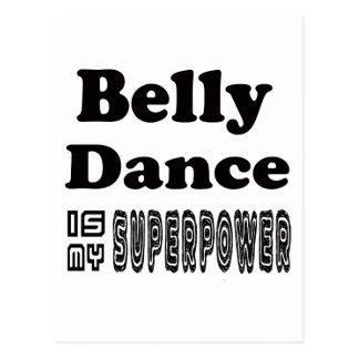 A dança do ventre é minha superpotência cartão postal