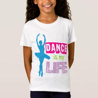 A dança é minha vida camiseta
