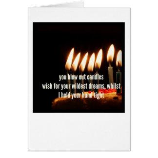 A demência viaja cartão - feliz aniversario