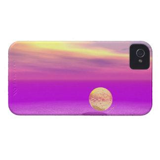 À deriva, oceano abstrato da violeta do ouro capinha iPhone 4