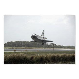 A descoberta do vaivém espacial aproxima a impressão de foto