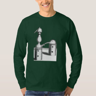 A destilação da alquimia utiliza ferramentas a camiseta