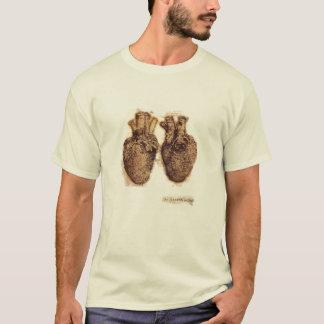 a Dinamarca Vinvi -- Esboço do coração Camiseta