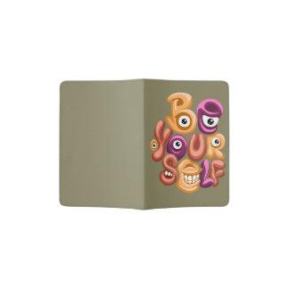 a divisa da vida - seja você mesmo grafites capa para passaporte