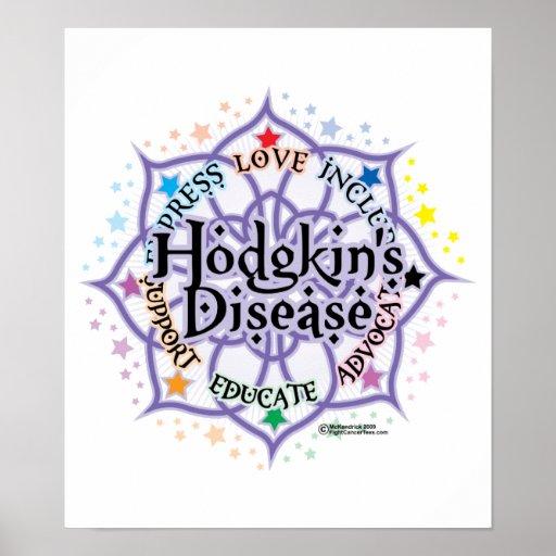 A doença Lotus de Hodgkin Poster
