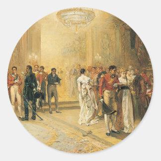 A duquesa da bola de Richmond em 1815 Adesivo