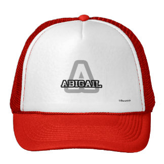 A é para Abigail Boné