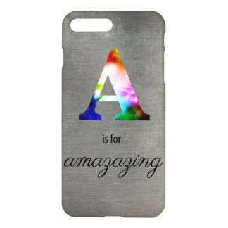 A é para Amazazing! caso positivo do iPhone 7! Capa iPhone 7 Plus