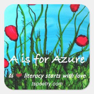 A é para as etiquetas Azure