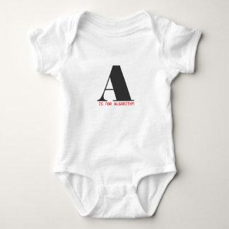 A é para o algoritmo body para bebê