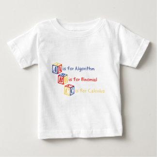 A é para o algoritmo camiseta para bebê
