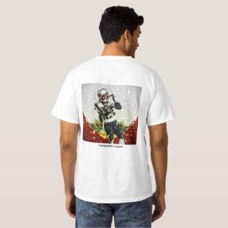 A EDIÇÃO do NATAL - mordomo de Malcolm - SB49 Camiseta