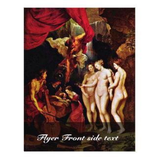 A educação de Mary por Rubens Peter Paul Panfleto Coloridos