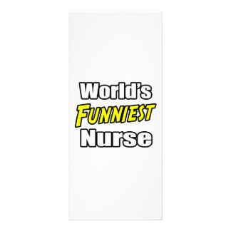 A enfermeira a mais engraçada do mundo panfletos informativos