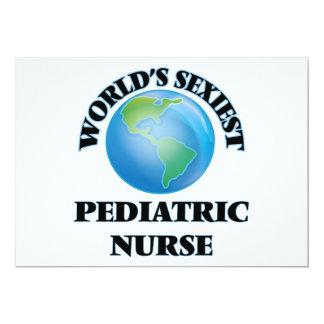 """A enfermeira pediatra a mais """"sexy"""" do mundo convites"""