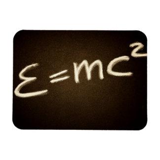 A equação de Einstein Foto Com Ímã Retangular